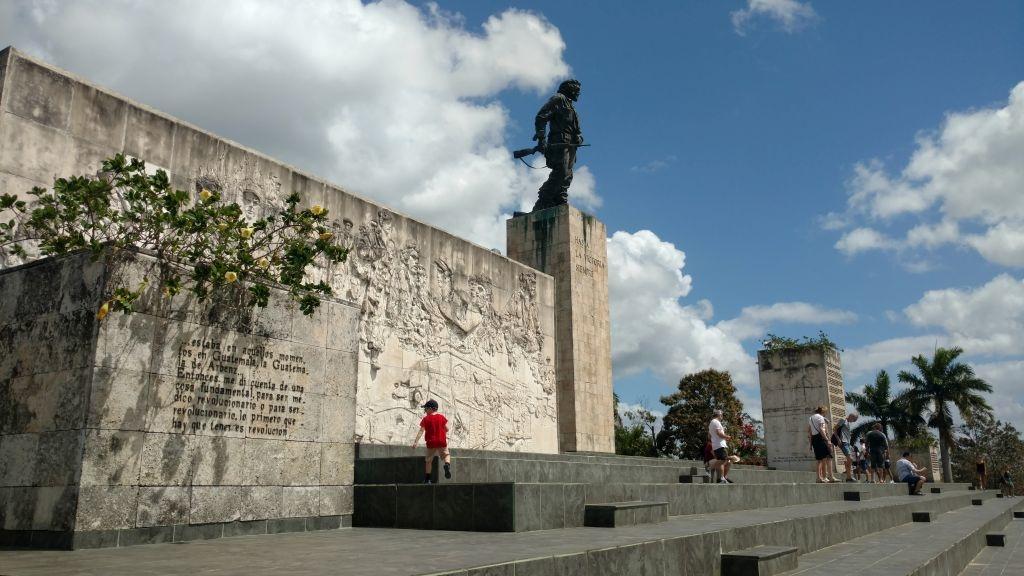 Mauzoleum Che Guevary w Santa Clara