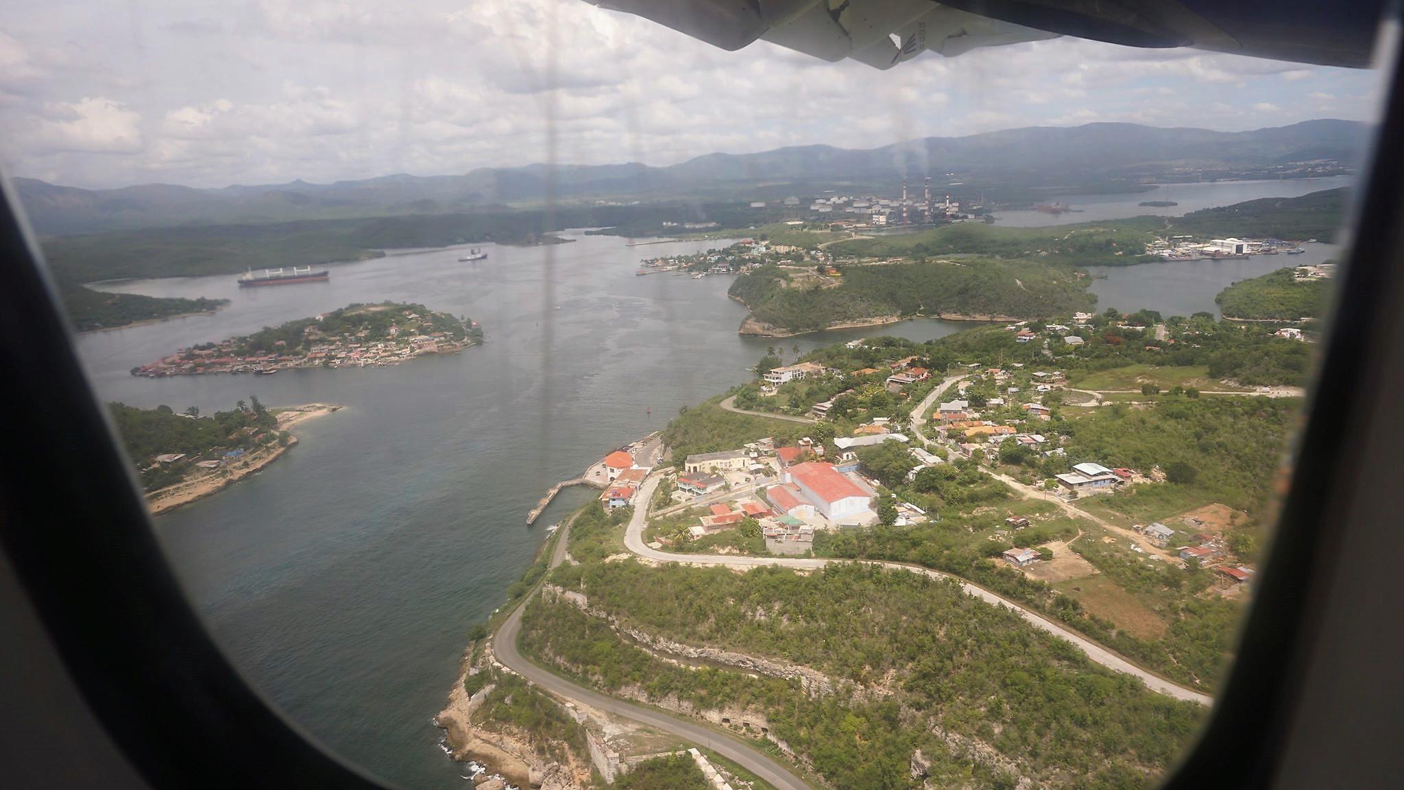 Kuba z lotu ptaka - Cayo Granma i Miramar