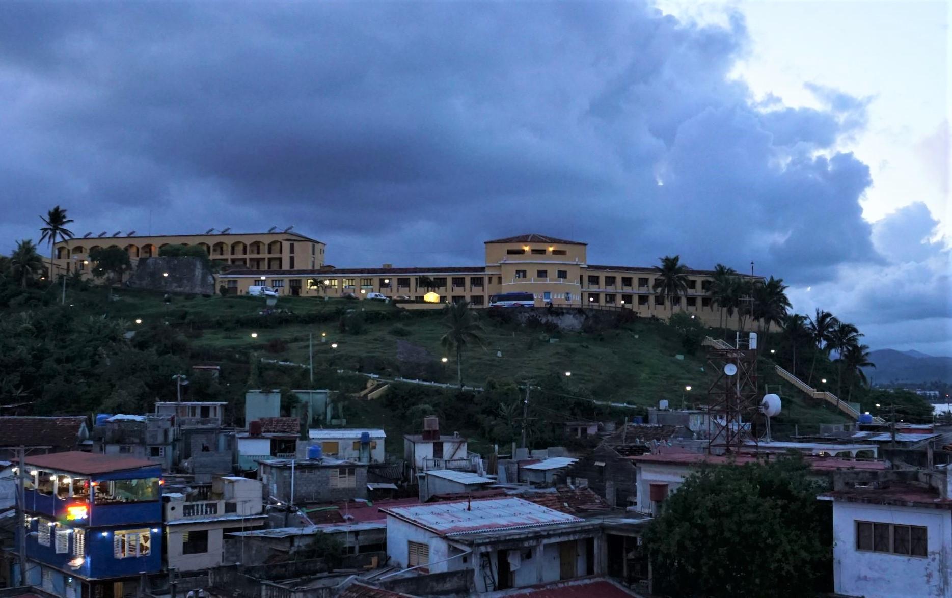Widok na Hotel El Castillo