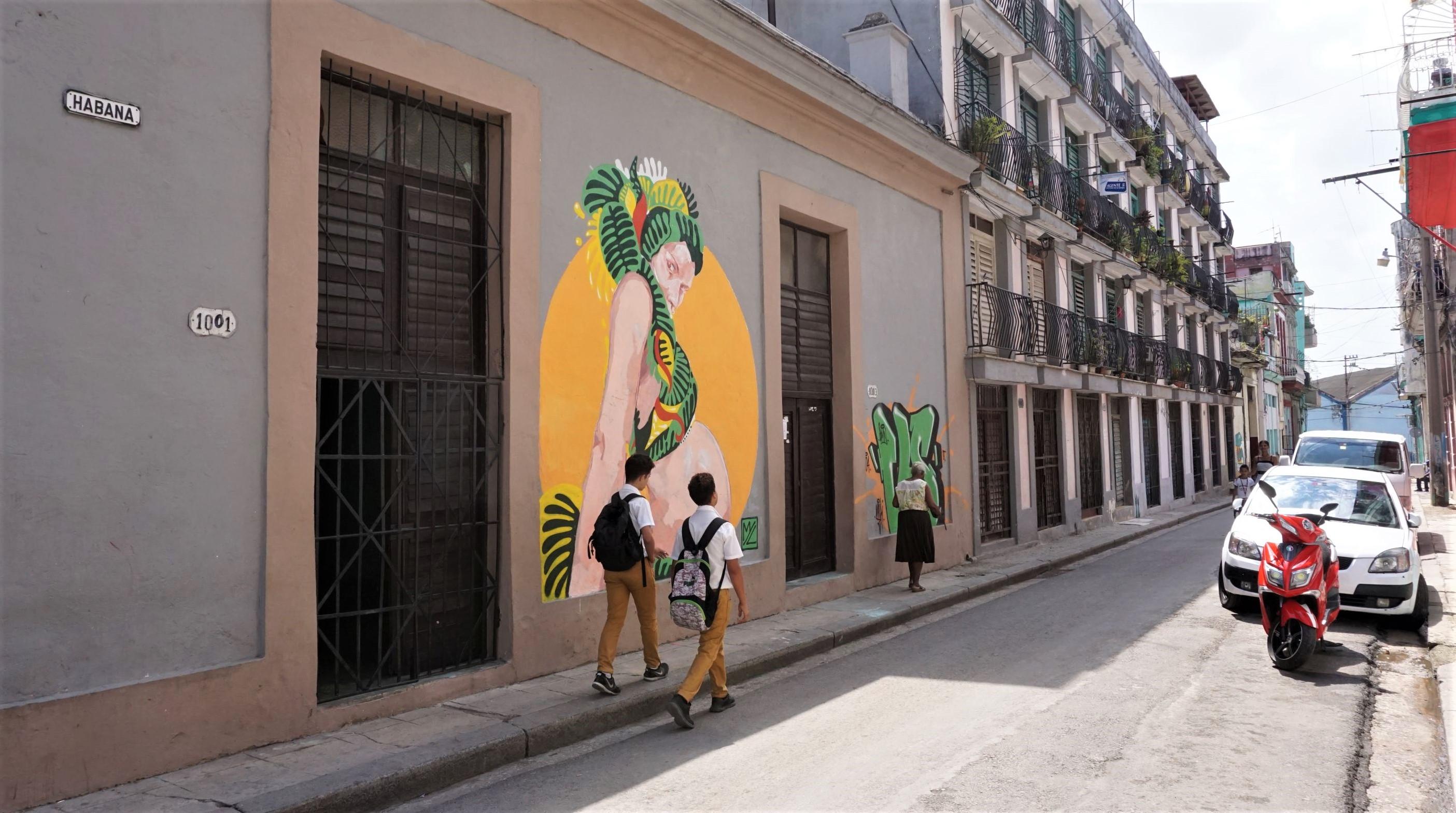 Murale w Hawanie