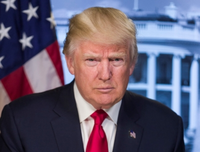 Official Portrait, President Donald J. Trump