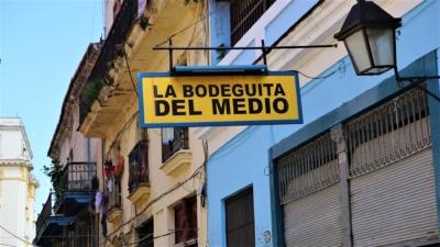 La bodeguita del Medio w Hawanie