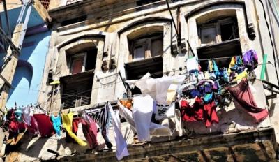 Pranie w Hawanie