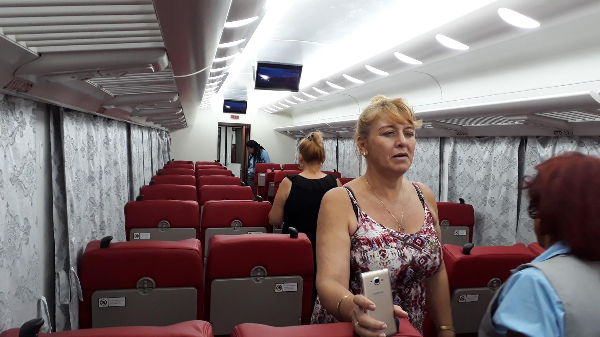 Pociągi na Kubie to nowoczesne chińskie maszyny