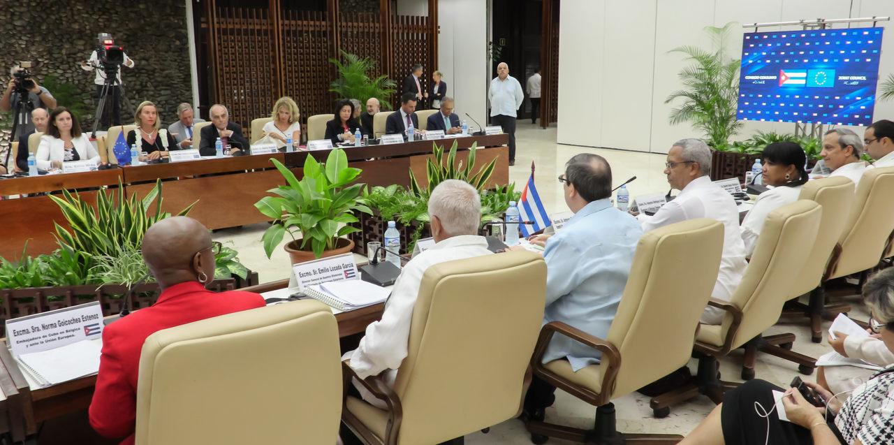 Sesja Kuba -Unia Europejska
