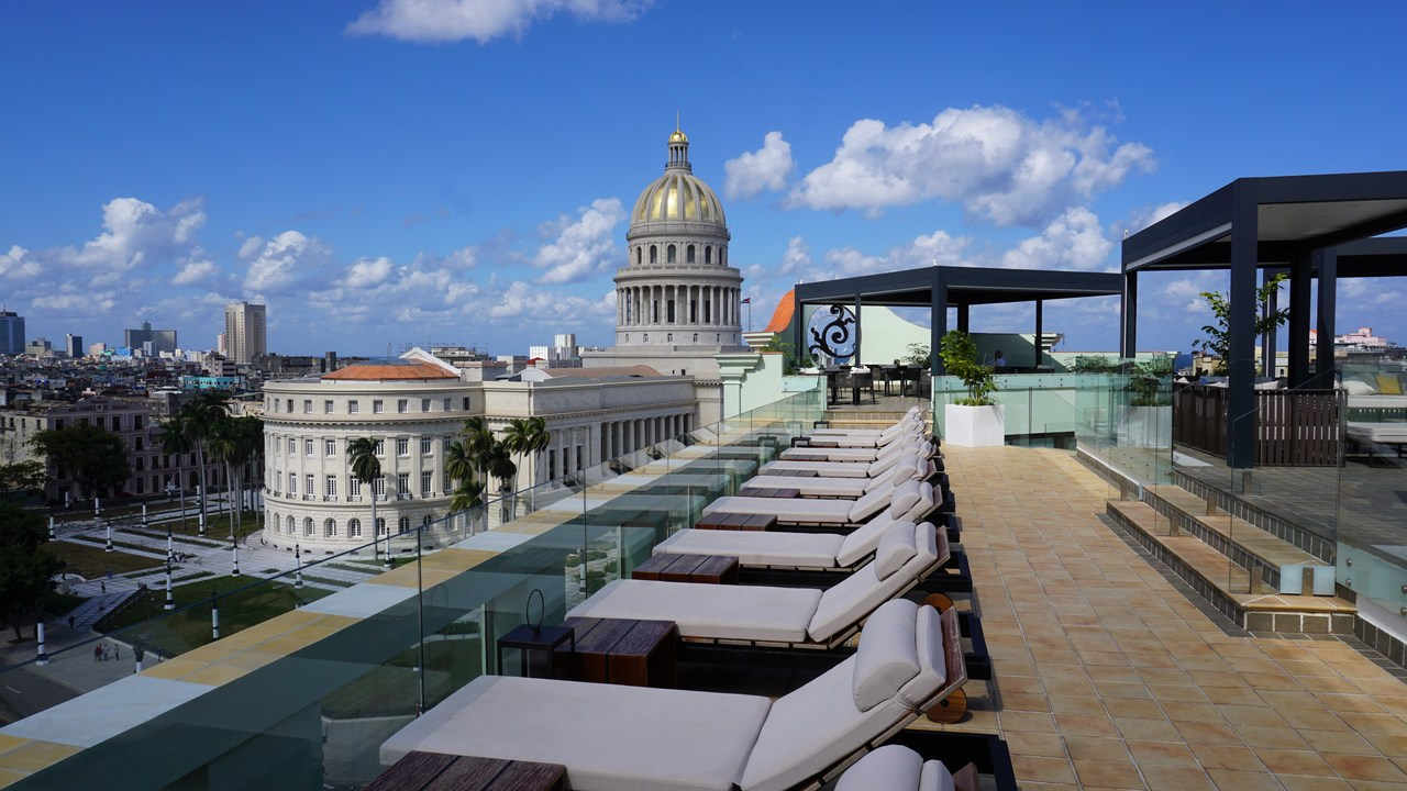 hotel Saratoga w Hawanie