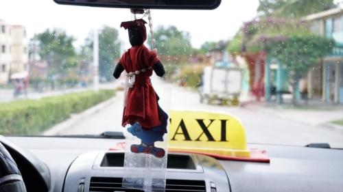 Orisza chroniła naszego taksówkarza