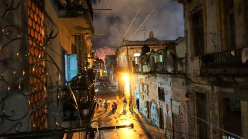 Calle Damas - 500-lecie Hawany i fajerwerki