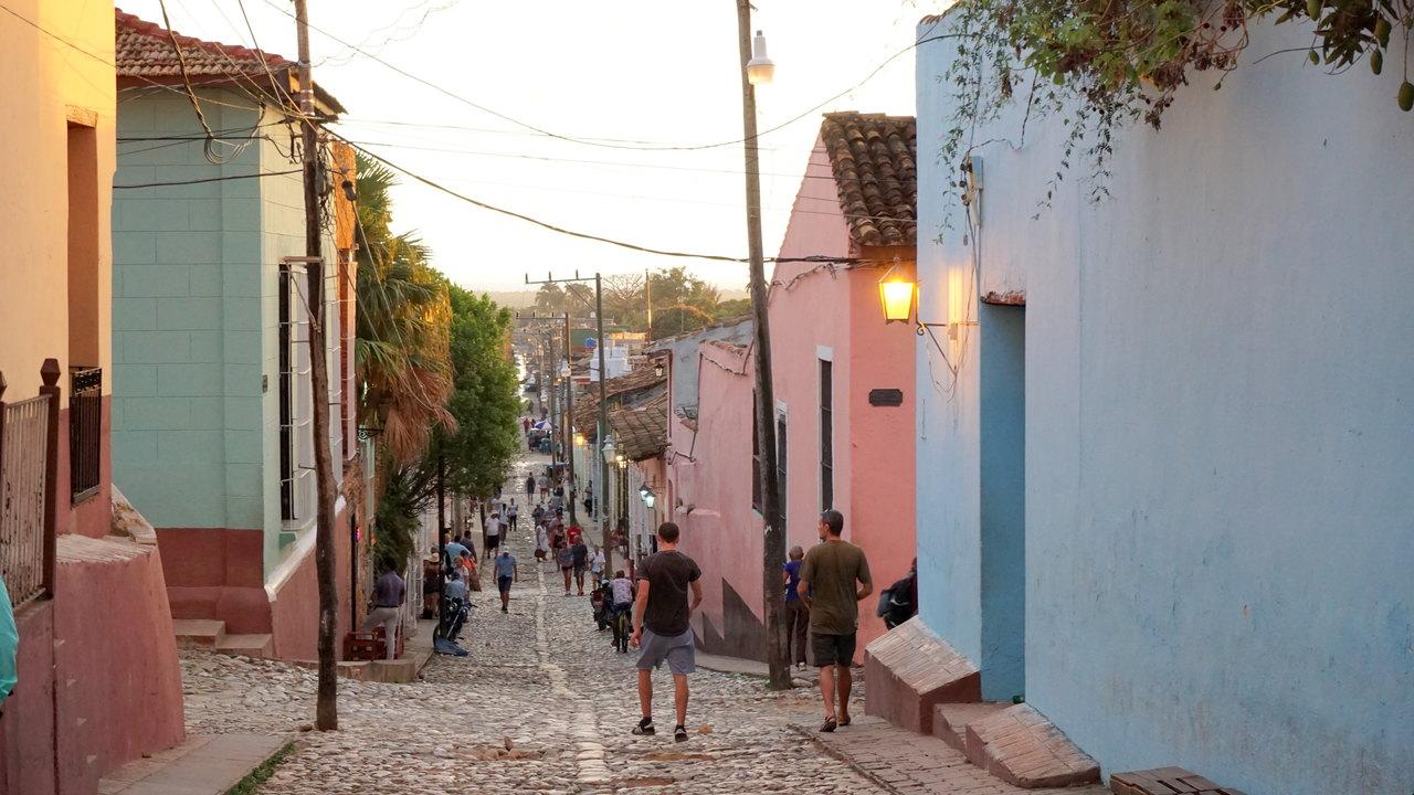 Stare miasto w Trinidadzie na Kubie