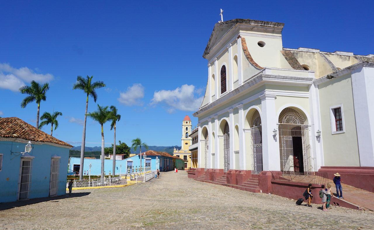 Kościół Świętej Trójcy w Trinidadzie na Kubie
