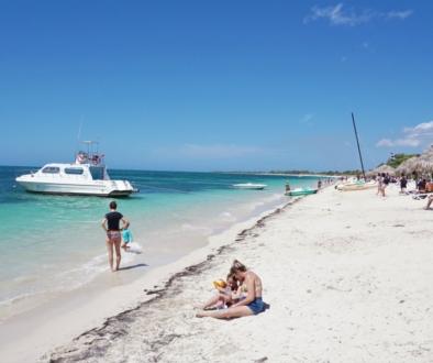 Playa Ancon - plaża w Trinidadzie na Kubie