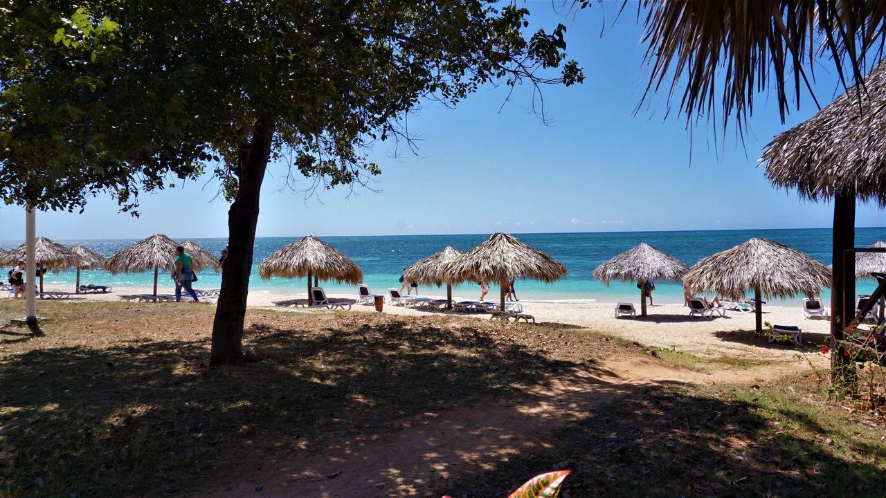 Playa Ancon w Trinidadzie